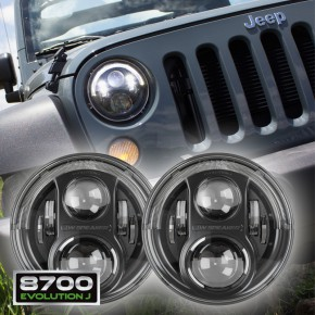 JW Speaker 8700 Evo J LED Headlights