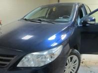 Установка DX50L на Corolla 150