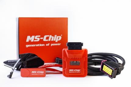 Блок увеличения мощности двигателя MS-Chip Sport