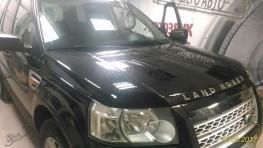 Механическая защита Land Rover