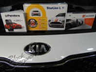 Авторская защита Kia Sportage