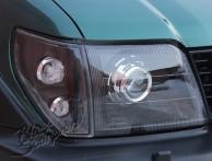 Bi Led светодиодные фары Toyota Land Cruiser Prado 90