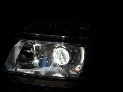 Bi Led светодиодные фары Toyota Voxy 01-04