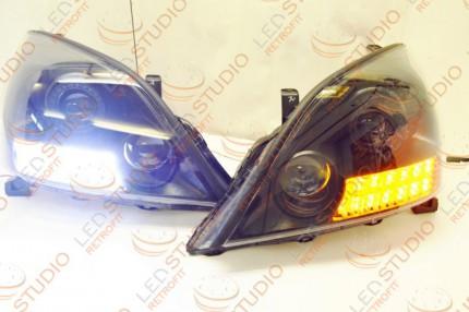 Bi Led светодиодные фары Lexus GX470 02-