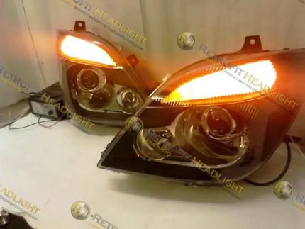 Bi Led светодиодные фары Mercedes Sprinter 906 06-13