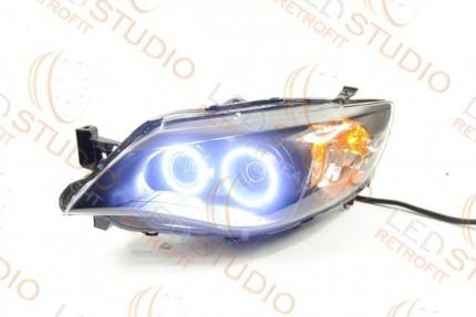 Bi Led светодиодные фары Subaru Impreza 07-10