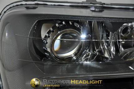 Bi Led светодиодные фары Chevrolet Trailblazer 02-05