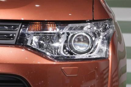 Bi Led светодиодные фары Mitsubishi Outlander 12-