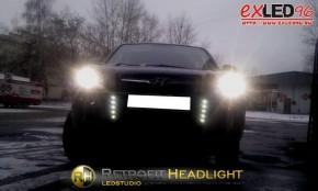 Bi Led светодиодные фары Hyundai Tucson
