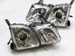 Bi Led светодиодные фары Lexus LX 470 98-07