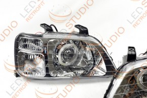 Bi Led светодиодные фары Honda CR-V 1 96-02