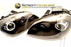 Bi Led светодиодные фары Chevrolet Lacetti 04-