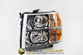 Bi Led светодиодные фары Chevrolet Silverado 07-14