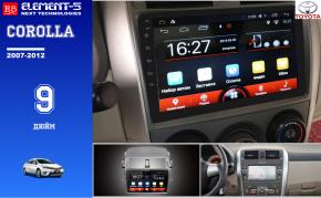 Мультимедия на Toyota Corolla 5ELEMENT