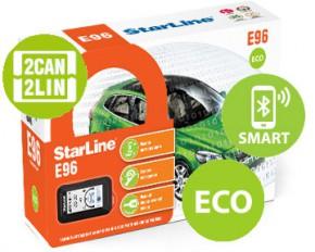 Автосигнализация StarLine E96 v2 BT 2CAN-2LIN ЭКО