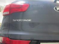 Установка камеры заднего вида на Sportage.