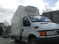 Задняя камера для грузовиков