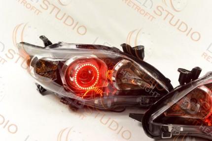Bi Led светодиодные фары Toyota Corolla E150