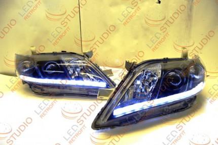 Bi Led светодиодные фары Toyota Camry V40