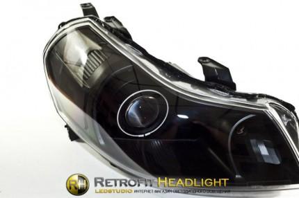 Bi Led светодиодные фары Suzuki SX4 06-