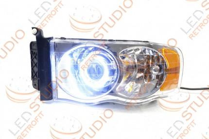 Bi Led светодиодные фары Dodge Ram 06-09