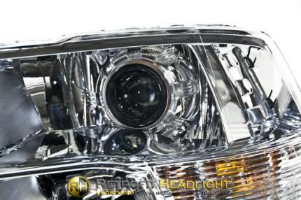 Bi Led светодиодные фары Dodge Ram 09-