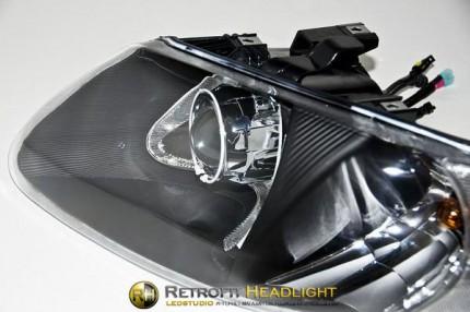 Bi Led светодиодные фары Dodge Caravan 4 01-04
