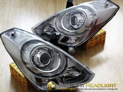 Bi Led светодиодные фары Hyundai Starex 08