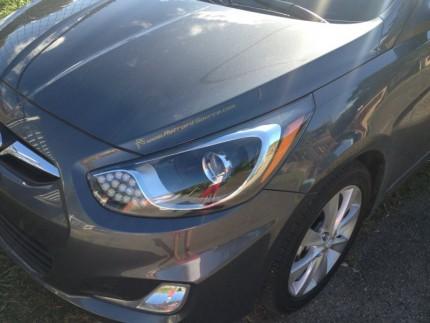 Bi Led светодиодные фары Hyundai Solaris 11-