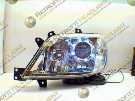 Bi Led светодиодные фары Mercedes Sprinter 901-905