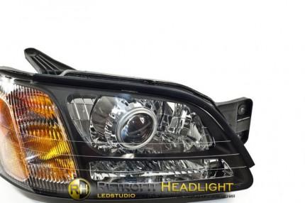 Bi Led светодиодные фары Subaru Legacy 00-04
