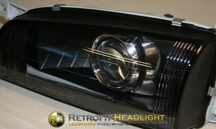 Bi Led светодиодные фары Subaru Impreza GF 97- 00