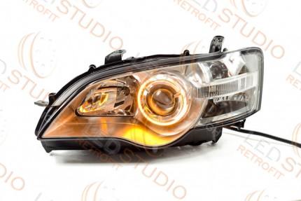Bi Led светодиодные фары Subaru Legasy BL 03-05