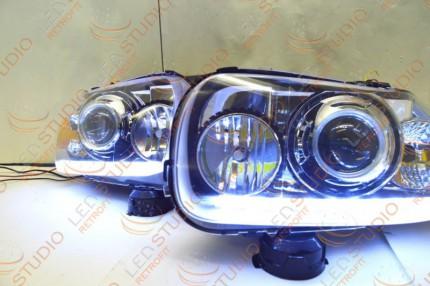 Bi Led светодиодные фары Ford Escape 05-07