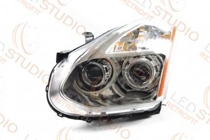 Bi Led светодиодные фары Nissan Rogue 08-10