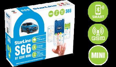 Установка StarLine S66 BT GSM