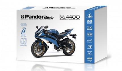 Установка Мотосигнализации Pandora DXL 4400