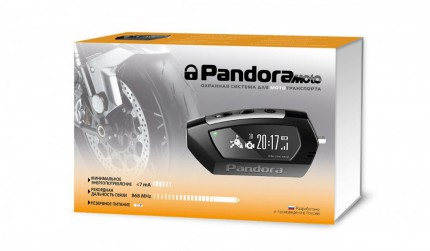 Установка мотосигнализации Pandora DX-42
