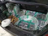 Шумоизоляция багажника Форд