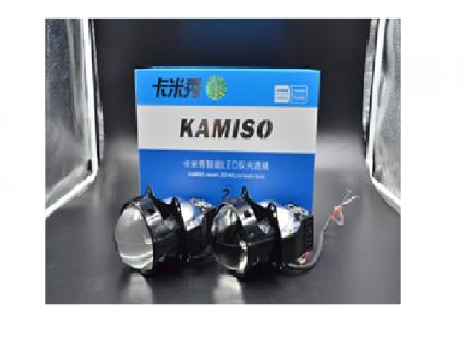 БИ-светодиодные линзы  LED bi-lens AOZOOM K2 3.0 БИ-светодиодные линзы  LED bi-lens AOZOOM K2 3.0 три светодиодных чипа Черный корпус 5500К, встроенный драйвер