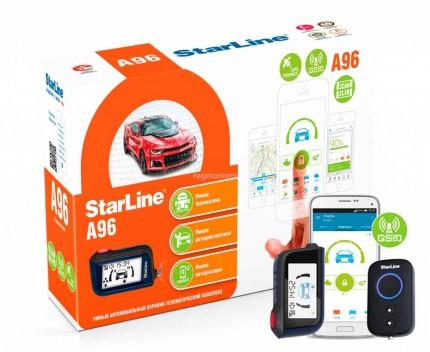 Автосигнализация Starline A96 BT 2CAN+2LIN GSM-GPS